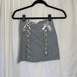 O mighty lace up skirt